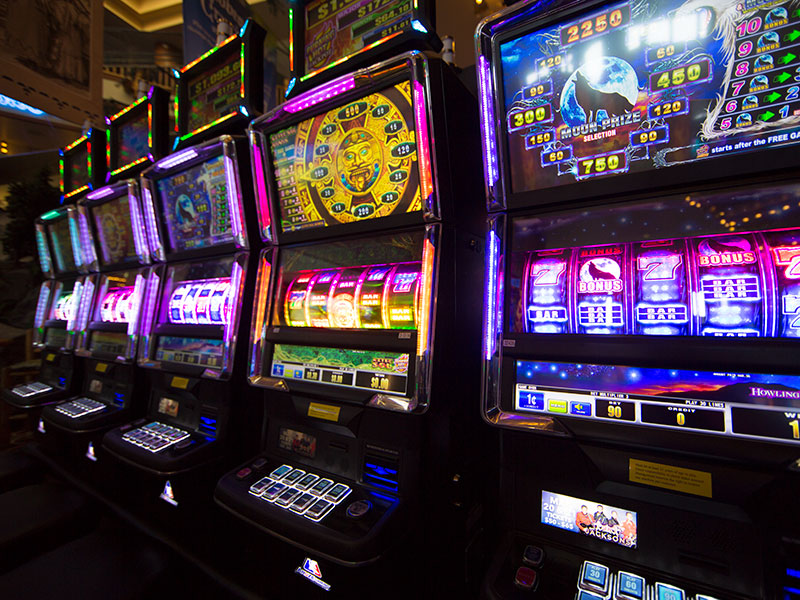 types of slots online game available on internet